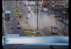 Mi Perú: el momento del despiste de un camión que dejó dos muertos y seis heridos | VIDEO
