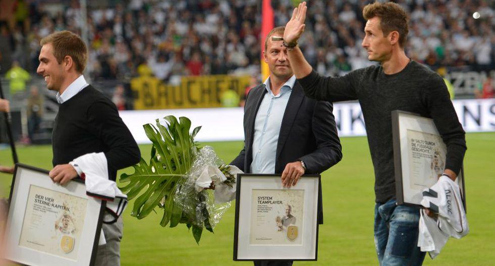 Alemania homenajeó a los campeones del mundo en Düsseldorf - 2