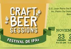 Craft Beer Sessions y su festival dedicado a las cervezas artesanales estilo IPA