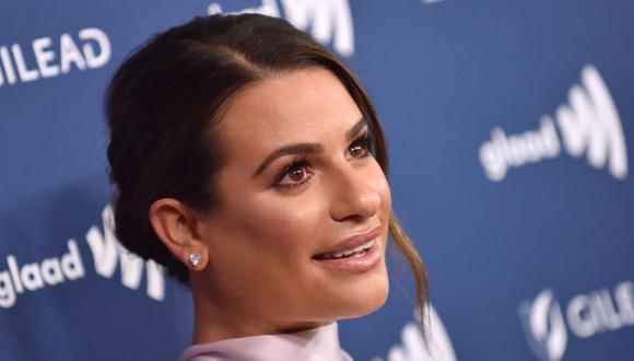 """La actriz Lea Michele pidió disculpas por su comportamiento en las grabaciones de la serie """"Glee"""". (AFP)."""