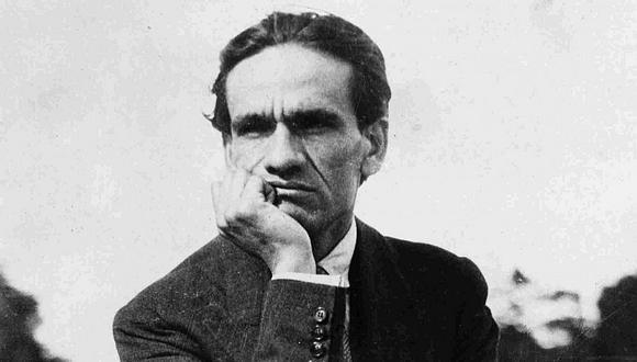 César Vallejo, poeta peruano. (Foto: Archivo)