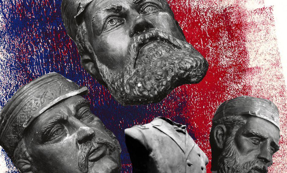 """""""El acto mismo de infligir daño físico a una representación escultórica colinda con la idolatría"""". (Ilustración: Giovanni Tazza)"""