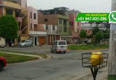 WhatsApp: conductor de movilidad realiza peligroso giro [VIDEO]