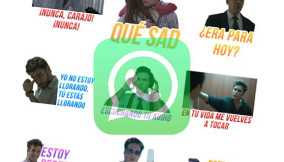 """Ya puedes descargar los stickers oficiales de """"Luis Miguel: la serie"""" para WhatsApp. (Foto: MAG)"""