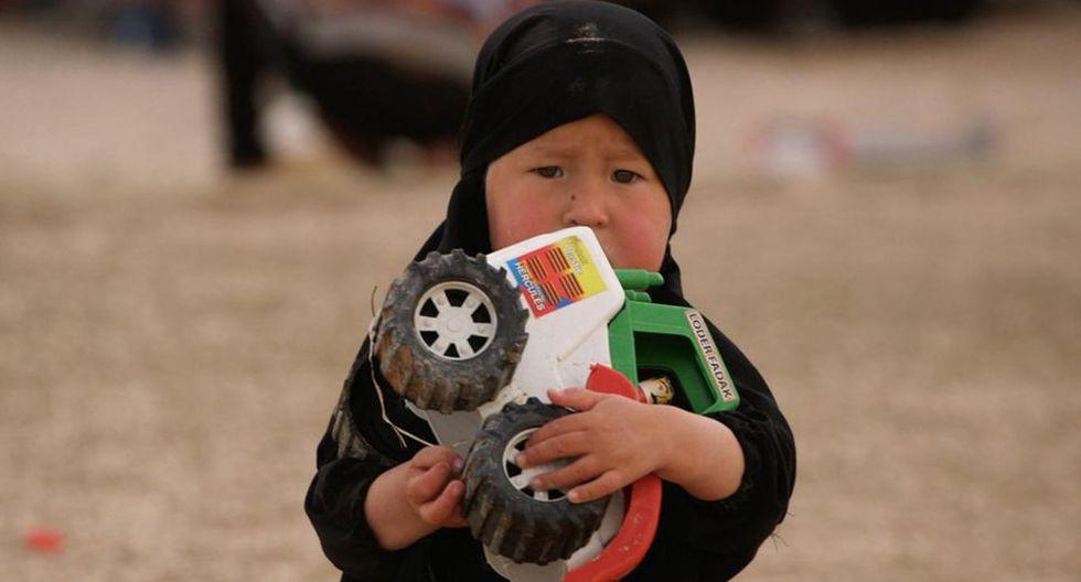 En Al Hol están las mujeres y los niños perdidos del grupo autodenominado Estado Islámico, abandonados por todos. (BBC)