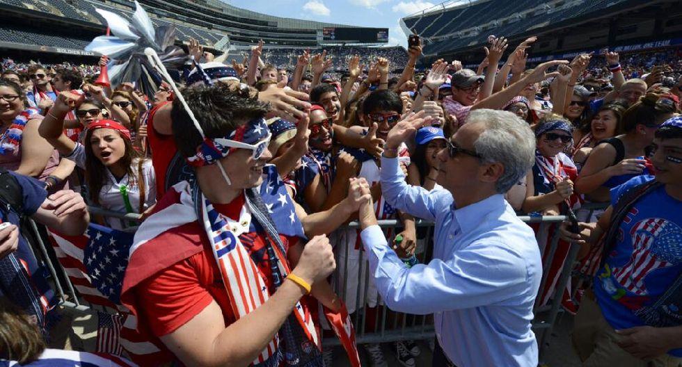Miles siguen el EE.UU.-Bélgica en el Soldier Field de Chicago - 6