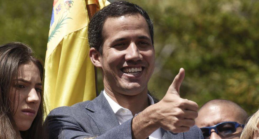 Venezuela | Estados Unidos le entrega a Juan Guaidó el control de varias cuentas bancarias venezolanas. (Bloomberg)