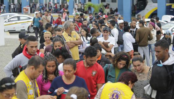 La migración venezolana en Perú es un fenómeno histórico e inédito.(Foto: Alonso Chero)