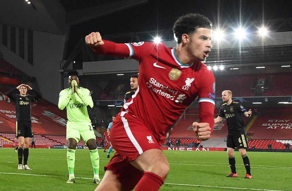 Liverpool venció al Ajax y clasificó a los octavos de final de la Champions League