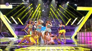 """'Princesas de cuento' deslumbraron en la pista de baile de """"Reinas del show 2″"""
