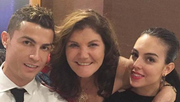Cristiano Ronaldo dedicó mensaje a Dolores Aveiro y Georgina Rodríguez por el Día de la Madre en Portugal. (Foto: Instagram)