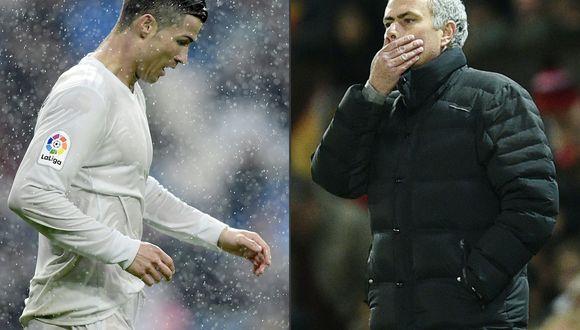 """Según el diario """"Marca"""", José Mourinho no se encuentra interesado en el fichaje de Cristiano Ronaldo debido a su rendimiento con 32 años y otros factores. (Foto: AFP)"""