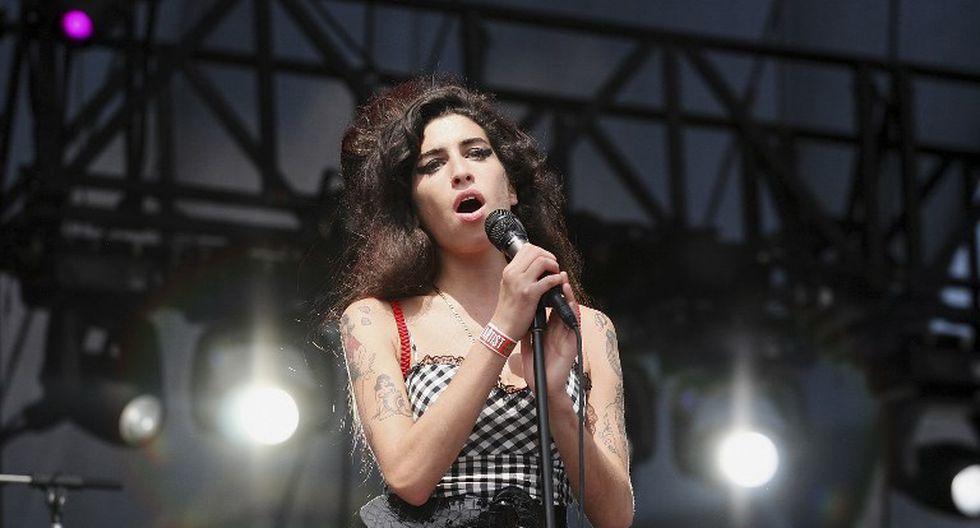 Amy Winehouse retornará a los escenarios como holograma | Foto: AFP