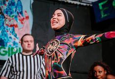 Nor 'Phoenix' Diana, la joven luchadora musulmana que lleva hiyab y rompe tabúes en Malasia