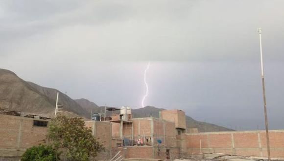 Áncash: dos personas murieron tras ser impactadas por rayos