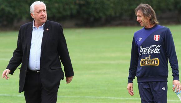 Antonio García Pye ya está coordinando con Ricardo Gareca lo que podría ser el periodo de entrenamientos en Videna de setiembre. (Foto: GEC).