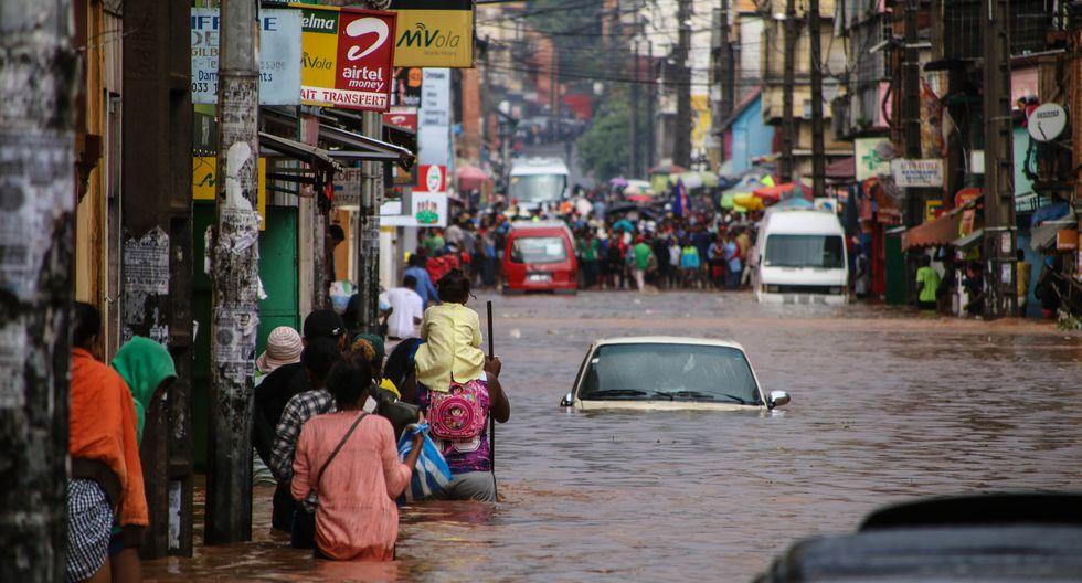 La OMM detalló que en las próximas décadas ocurrirán eventos climáticos más extremos. (Foto: MAMYRAEL / AFP)