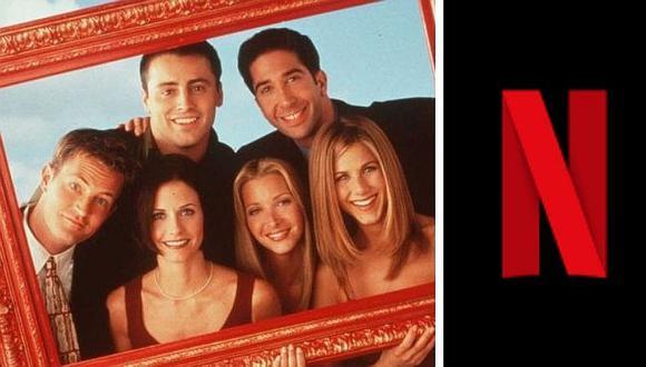 """""""Friends"""" ya no está disponible en Netflix desde este 1 de enero de 2021. (Foto: @NetflixLAT)"""