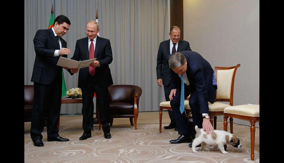 El presidente de Rusia ha declarado anteriormente su pasión por los canes. (Foto: captura de YouTube)