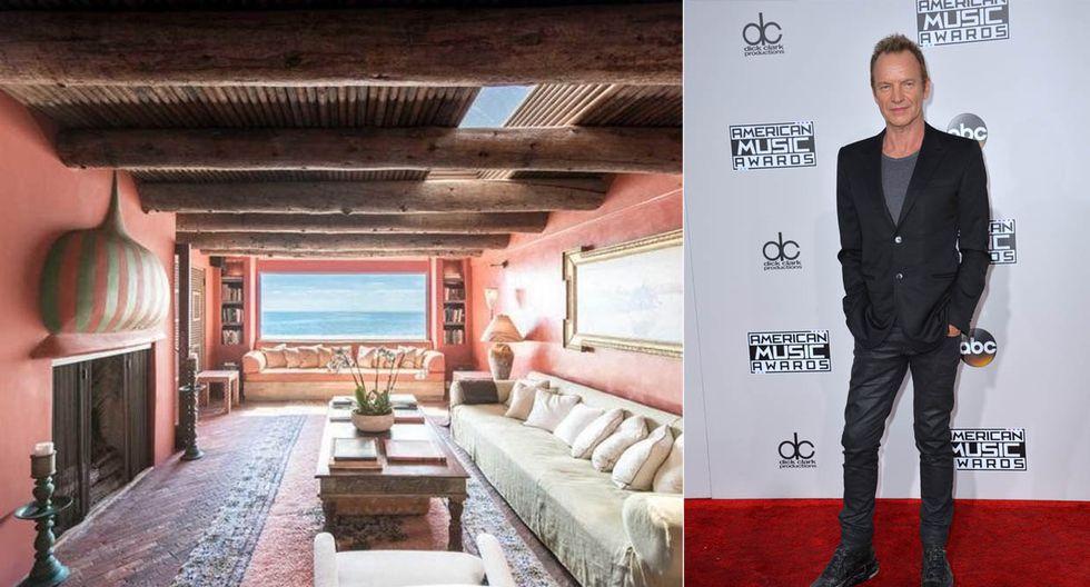 El cantante británico Sting, ex líder de The Police,  es dueño de esta preciosa casa de playa en Malibú. (Foto: MLS / trulia.com)