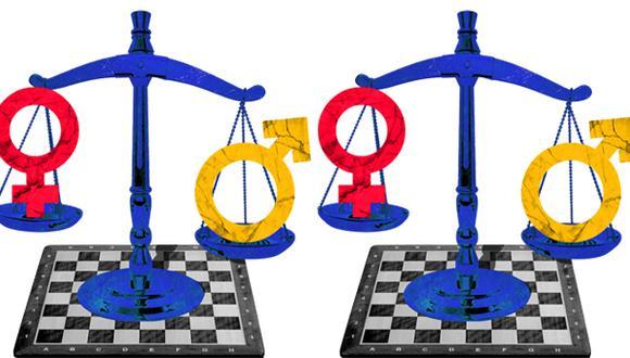 """""""No hay que confundir la igualdad de trato ante la ley con la libertad. Estas son compatibles, pero no son la misma cosa"""". (Ilustración: Giovanni Tazza)."""