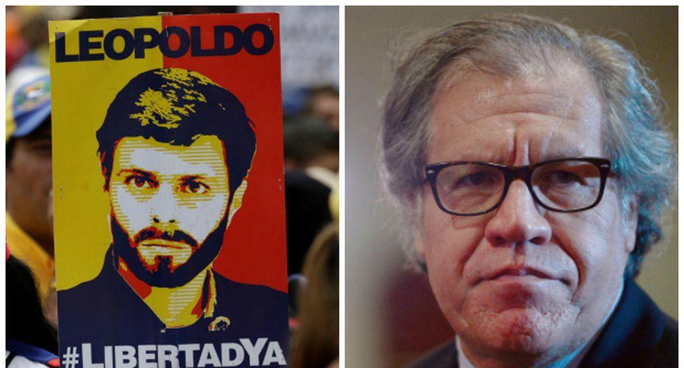 Secretario general de la OEA exige visitar a Leopoldo López