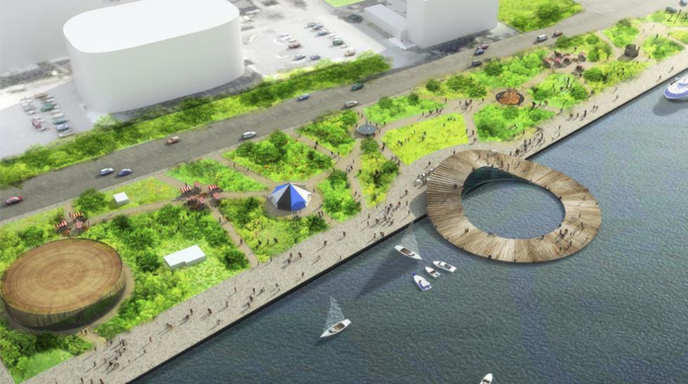 Parque público: Conoce un innovador proyecto en el Mar Báltico - 1