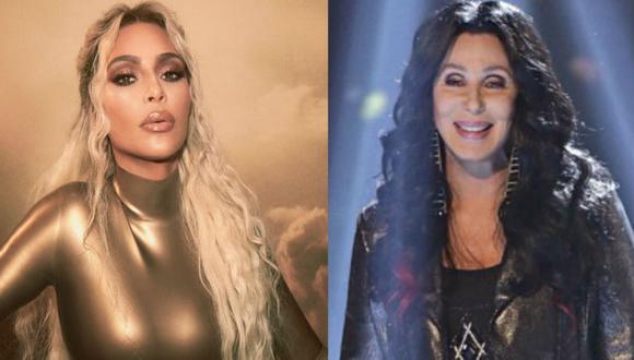 El portal TMZ indica que Kim Kardashian West tiene un nuevo proyecto con su ídolo, Cher. (Fotos: Instagram)
