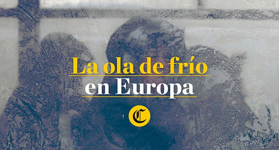 Intensa ola de frío sigue causando muertes en Europa [VIDEO]
