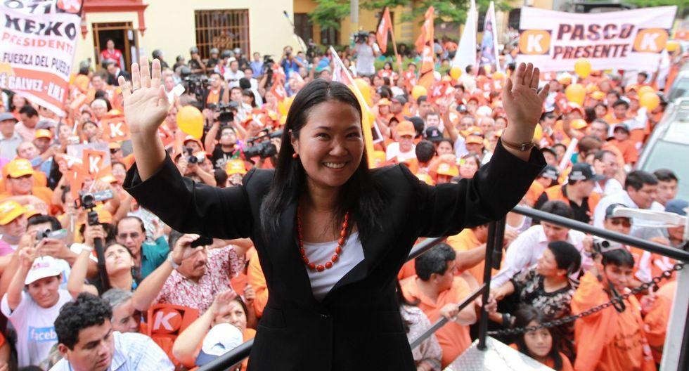 La fiscalía investiga los aportes a la campaña de Keiko Fujimori en el 2011 (Foto: Archivo Grupo El Comercio)