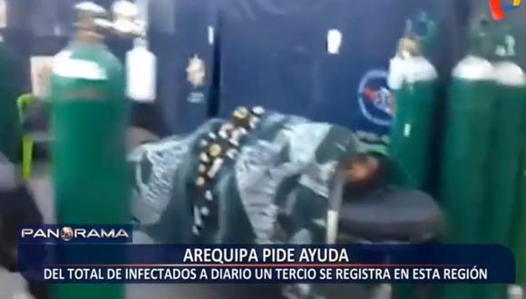Arequipa en su peor momento desde que inició la pandemia del COVID-19 | VIDEO