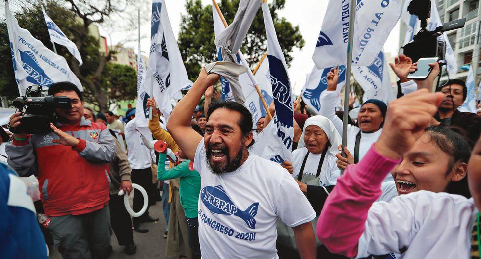 Solo la lista por Lima del Frepap cumplió todos los requisitos exigidos para que su pedido de inscripción fuera aceptado. (Foto: Hugo Pérez/GEC)