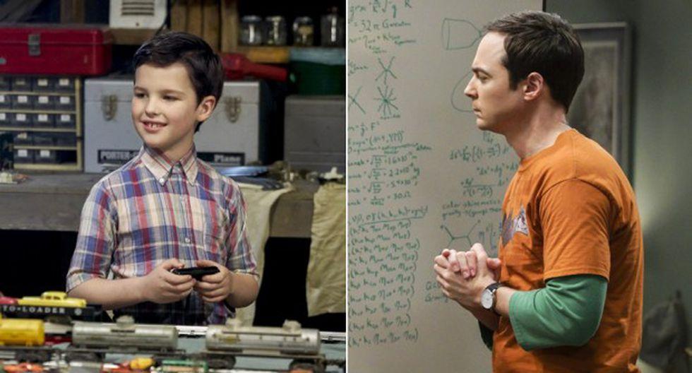 """""""The Big Bang Theory"""" y """"Young Sheldon"""" tendrán su esperado crossover el próximo 6 de diciembre. (Foto: Difusión/ Warner Channel)"""