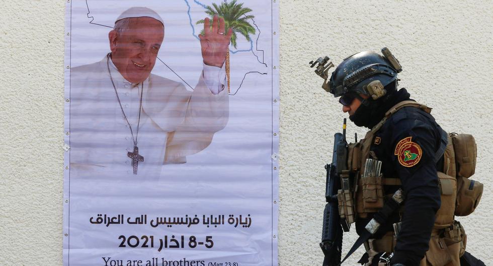 El papa Francisco emprende el viernes un viaje de cuatro días a Irak. La visita al convulso país se realiza bajo enormes medidas de seguridad. (Foto: Reuters / Khalid al-Mousily)