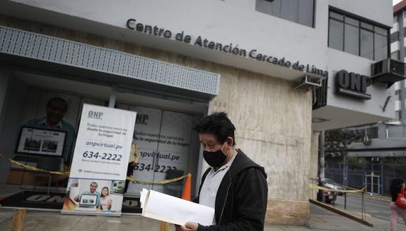 La ley que permitía la devolución de aportes de la ONP fue declara inconstitucional. (Foto: César Campos / GEC)