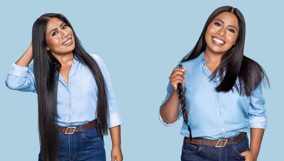 En total, la mexicana ha donado alrededor de 30 centímetros de su cabello negro. (Fotos: IG/ @yalitzaapariciomtz)