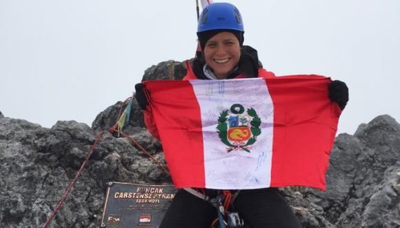 Histórico: Montañista peruana alcanzó la cima del Everest