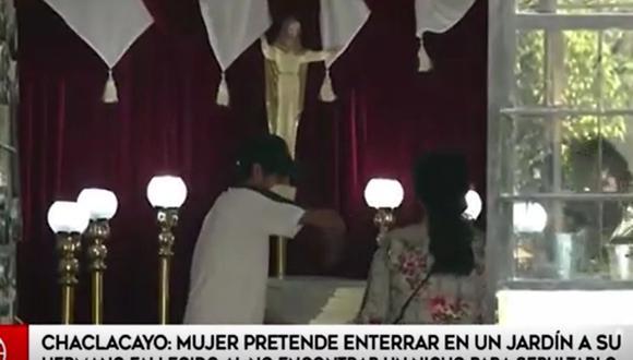 Dramático caso en Chaclacayo | Captura América TV