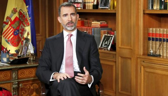 Felipe VI llama a una fracturada España a unirse en Navidad