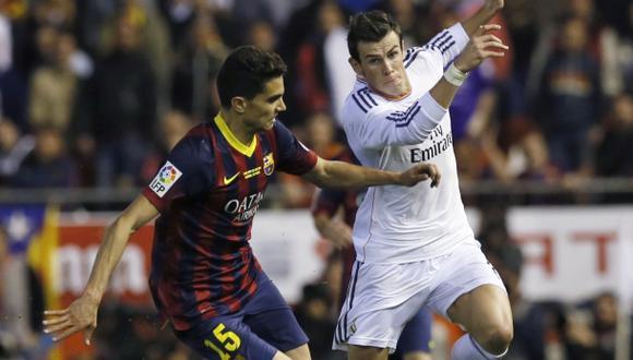 Marc Bartra explica por qué no pudo frenar a Gareth Bale