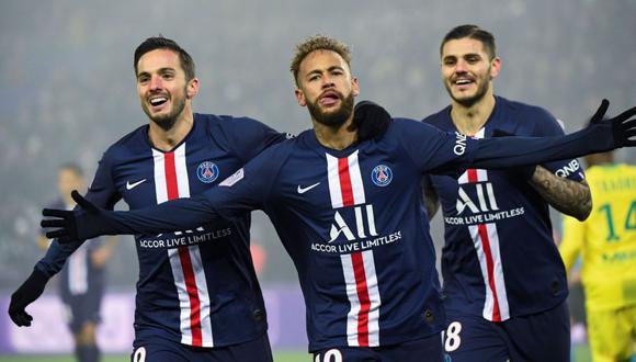 PSG es el actual campeón de la Ligue 1. (Foto: Agencias)
