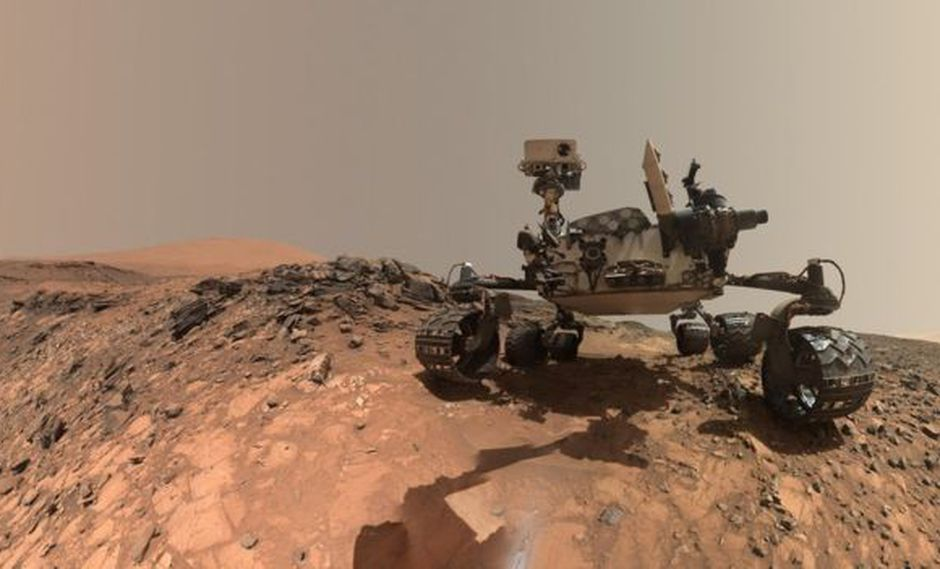 Curiosity aterrizó en Marte en 2012 y es tan popular como estrellas de Instagram por sus numerosos selfies. (Foto: NASA)
