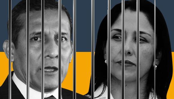 Ollanta Humala and Nadine Heredia (Foto: El Comercio)