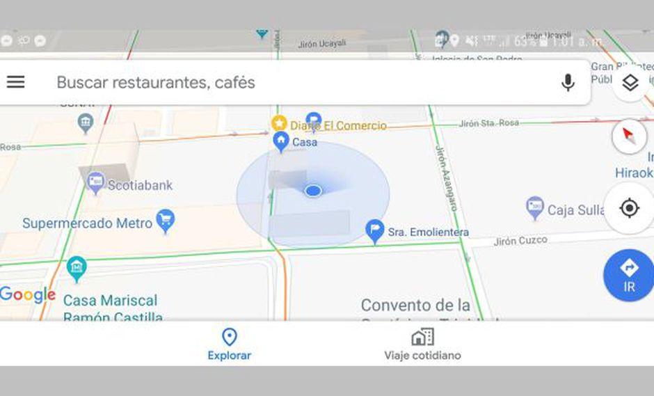 Del mercado de aplicaciones, las desarrolladas por Google son las que mejor reputación gozan entre usuarios. (Foto: Google Maps)