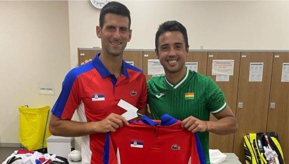 Novak Djokovic sigue a paso firme para ganar su primera medalla de oro en unos Juegos Olímpicos.