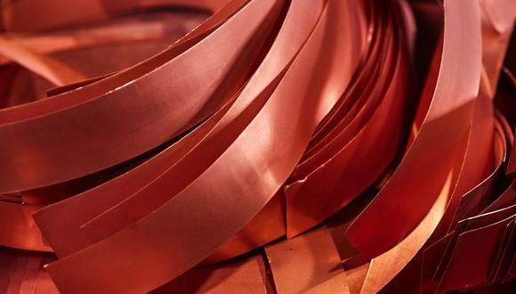 El cobre a tres meses subía un 2,3%. (Foto: Bloomberg)