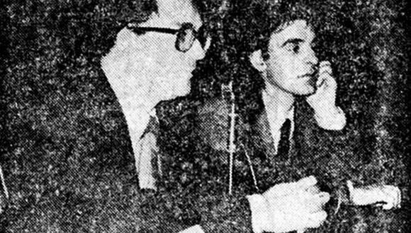 John Barret y James Watson, los médicos especialistas ingleses que realizaron la histórica operación. (Foto: GEC Archivo Histórico)
