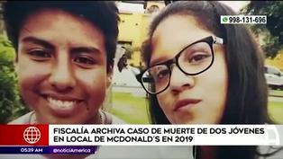 Fiscalía archiva investigación por muerte de dos trabajadores en un local McDonald's