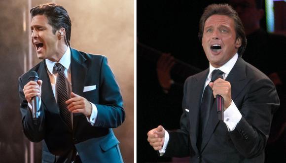 Durante los dos primeros episodios se narra el supuesto accidente que tuvo Luis Miguel durante un concierto que dio en Lima. (Foto: Netflix / AFP)