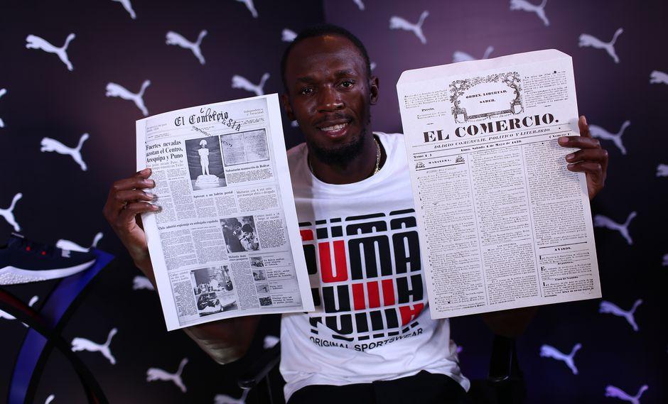Usain Bolt: la intimidad del encuentro del Rayo con El Comercio | FOTOS.